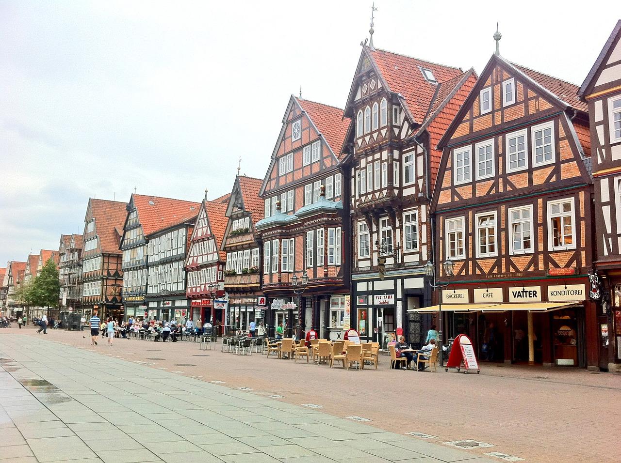 Cidade típica da Alemanha