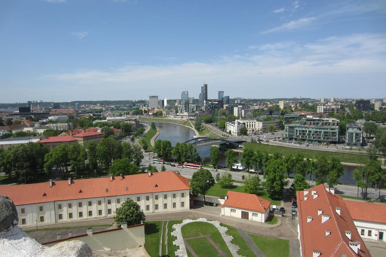 Imagem geral de cidade da Lituânia: é muito importante saber mais sobre este pequeno e fascinante país europeu